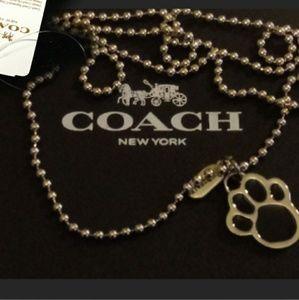 Coach Paw Accessory